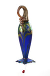 Iris Blue Cobalt Hummingbird Feeder