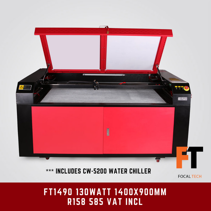 FT1490 130Watt CO2 Laser Cutter/Engraver