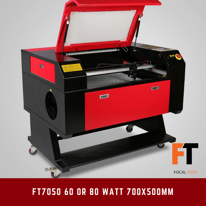 FT7050 60 or 80 Watt CO2 Laser Cutter/Engraver