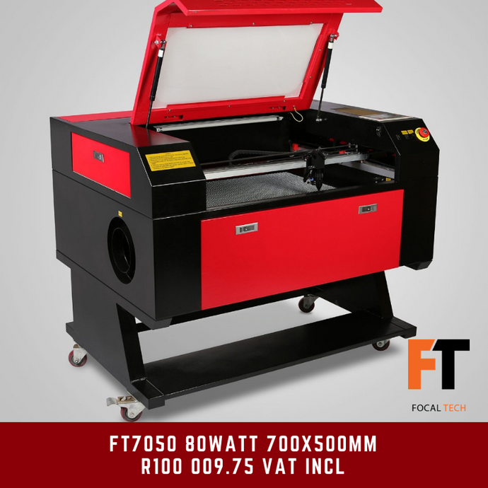 FT7050 80Watt CO2 Laser Cutter/Engraver