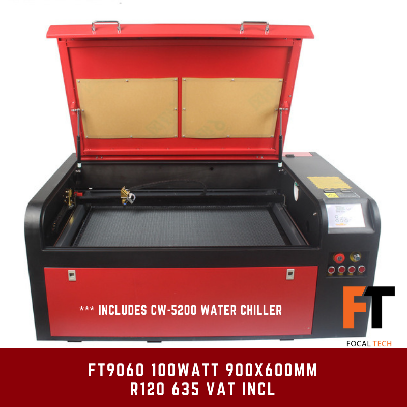 FT9060 100Watt CO2 Laser Cutter/Engraver