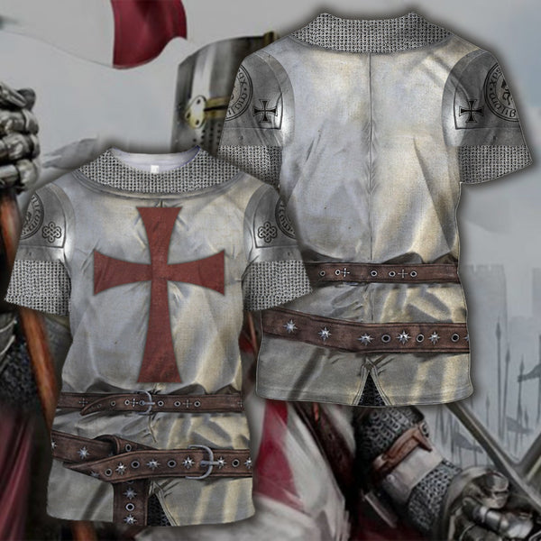 3D All Over Printed Knight Templar Tops
