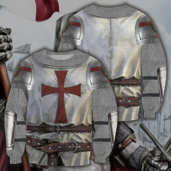 3D All Over Printed Knight Templar