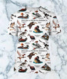 3D All Over Printed Duck Shirts