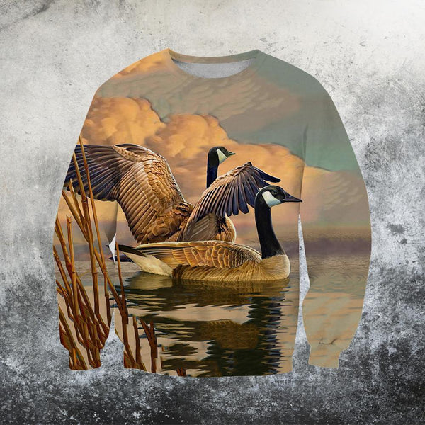 3D All Over Printed Canada Geese Clothes