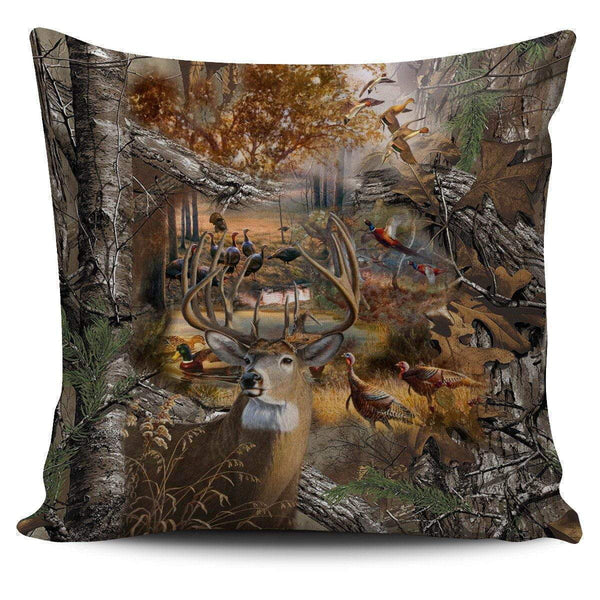 Pillow Covers - Hunting Camo