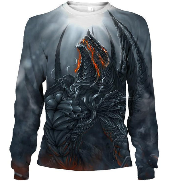3D All Over Print Dragon Shirt 20