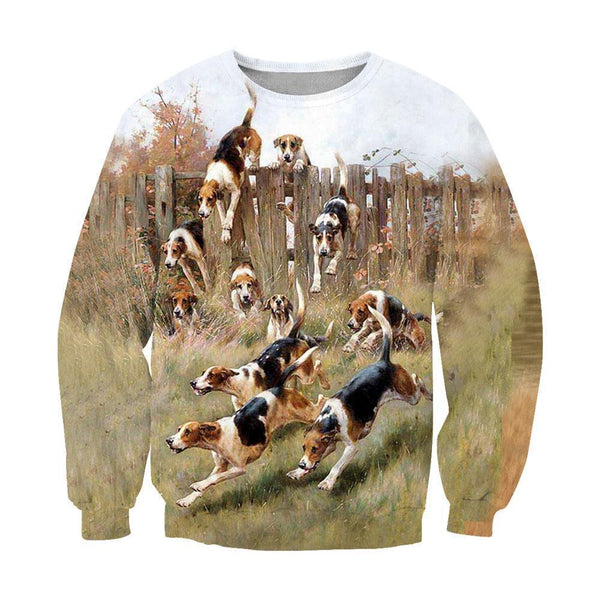 3D All Over Print Beagle Harrier Foxhound Hunting Dog