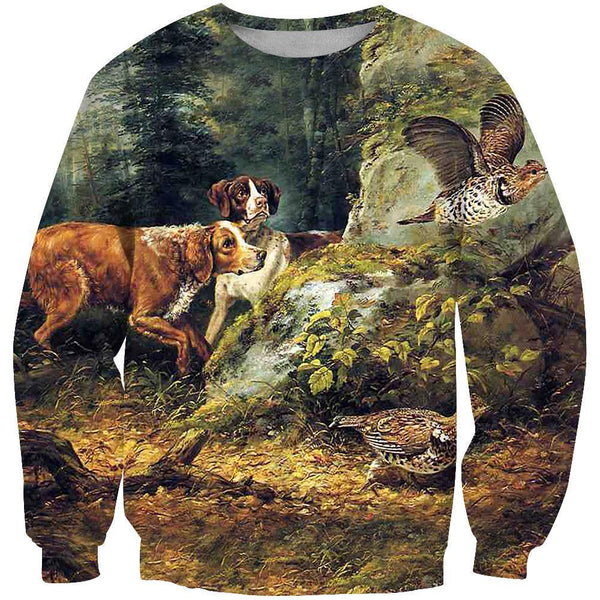 All Over Printed Hunting Dog Clothes