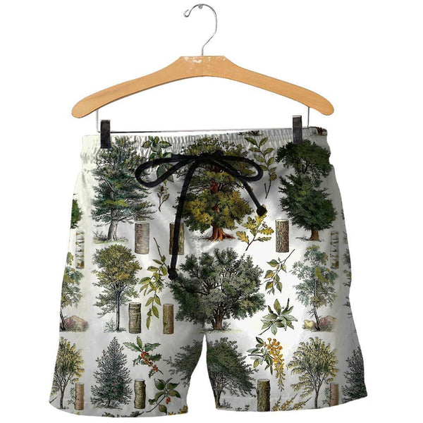 3D All Over Printed Vintage Forest Shirts And Shorts SAGK031003