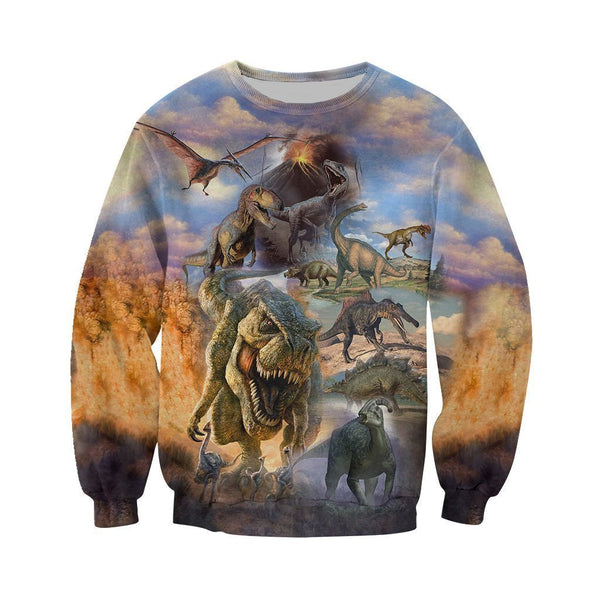 3D All Over Printed Dinosaurs Collection Art  Shirts and Shorts