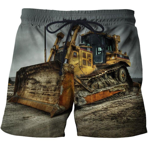 3D All Over Printed Heavy equipment Clothes