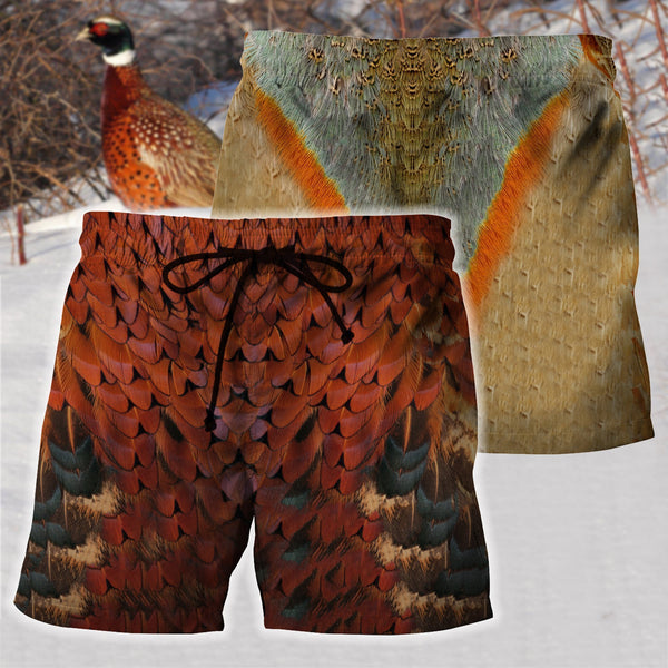 Pheasant Cover 3D All Over Printed Shirts For Men & Women