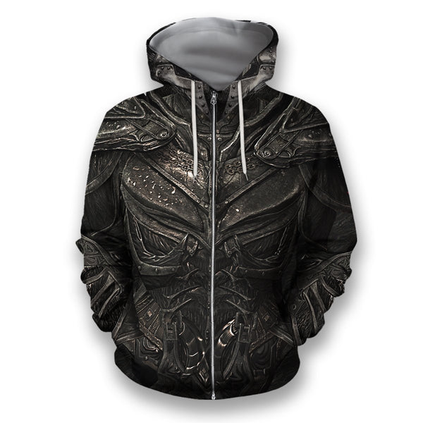 All Over Printed Daedric Armor Hoodie