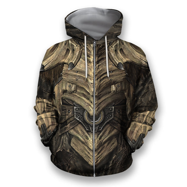 All Over Printed Dragonplate Armor Hoodie