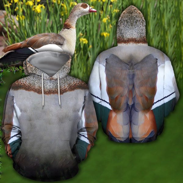 3D All Over Printed Egyptian Goose Cover