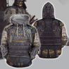3D All Over Printed Samurai Armor Tops