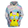 3D All Over Print Hologram-Pika-Men Shirt