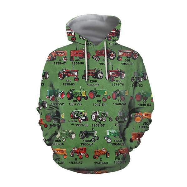 Tractor quotes Hoodie