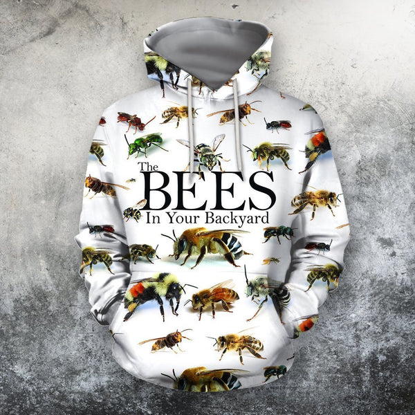 All Over Printed The Bees