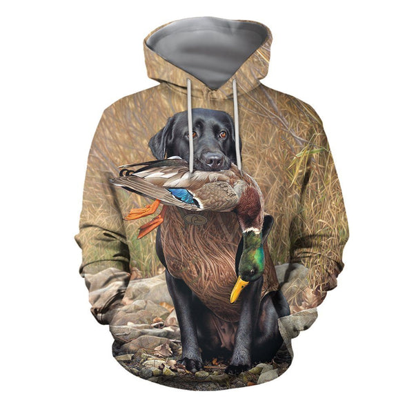 3D All Over Printed Hunting Duck Clothes
