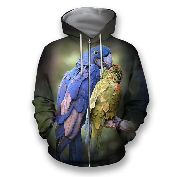 3D All Over Print Bird's of a Feather Hoodie