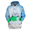 3D All Over Print Cute Christmas Hoodie