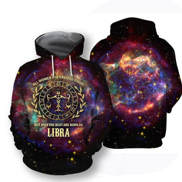 All Over Printed Libra Horoscope Hoodie