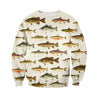 3D All Over Printed North American Fishes Shirts