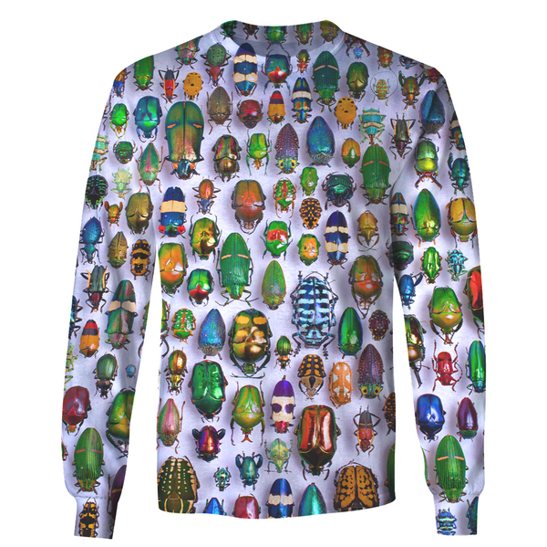 3D All Over Print Insect Hoodie - Ocean Gear - Apparel -