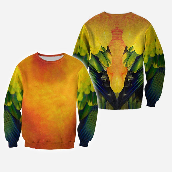 Love Parrot 3D All Over Printed Shirts For Men & Women