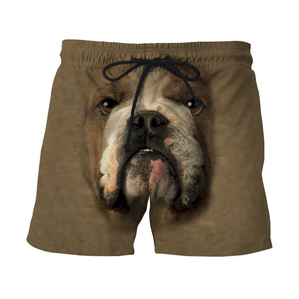 3D All Over Print Bulldog Face