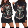 All Over Printed Native Blood Hoodie Dress