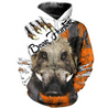 PL417 WILD BOAR CLAWS 3D ALL OVER PRINTED SHIRTS
