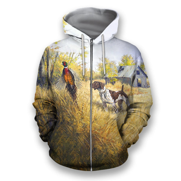 All Over Printed Pheasant Hunting Shirts
