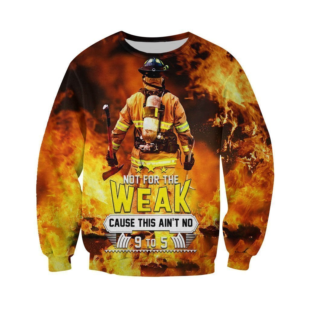 dd3ac9e037cb 3D All Over Printed Firefighter Not for the Weak– Amazing Hoodie
