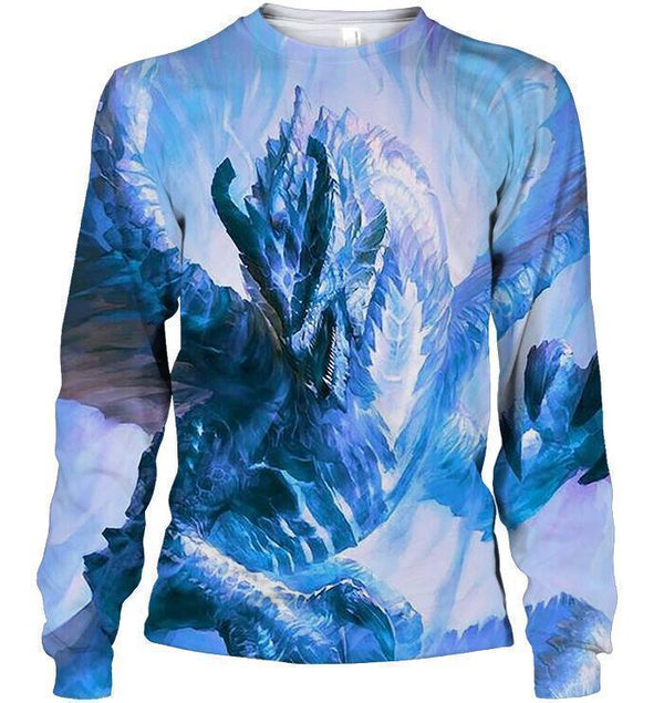 All Over Print Frozen Dragon Shirts