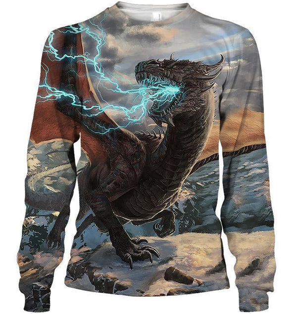 All Over Print Thunder Lizard