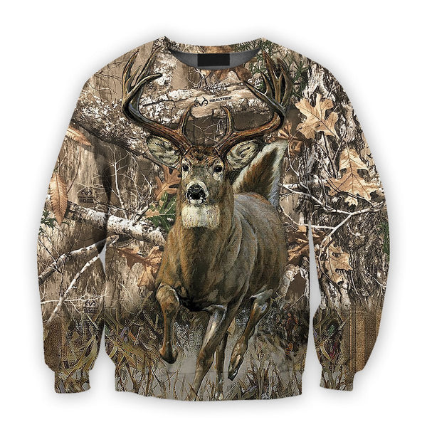 All Over Printed Whitetail Deer Camo Shirts