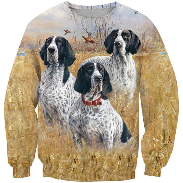 All Over Printed English Pointer Dog