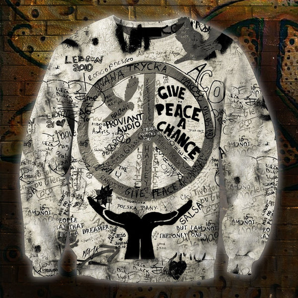3D All Over Print American Hippie Hoodie