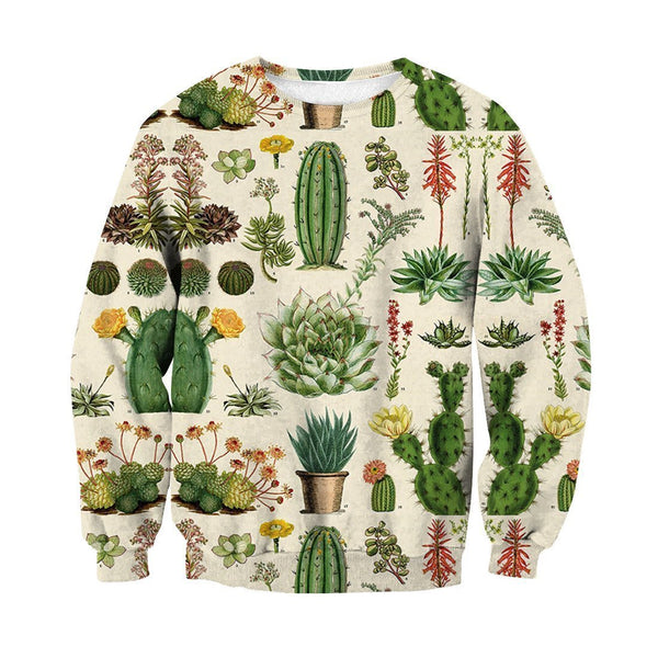 3D All Over Print Cacti Shirt