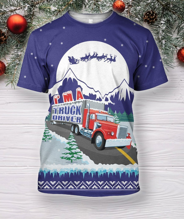 Truck XMAS Shirts and Shorts