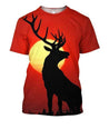 All Over Print Deer Sunset