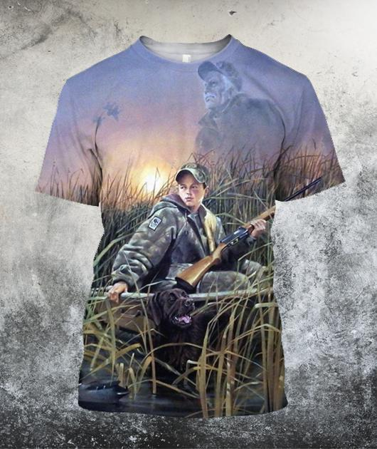 Coon Hunting Art 3D All Over Printed Shirts