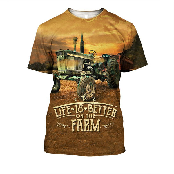 Life Is Better On The Farm Hoodie