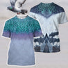 3D All Over Printed Pigeon Shirts