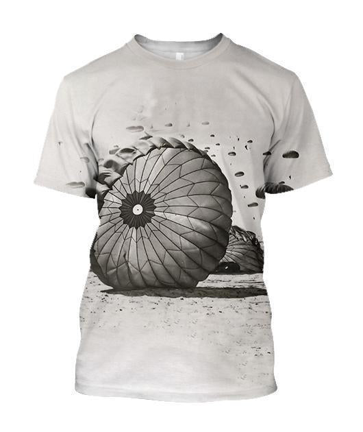 3D All Over Printed Paratrooper The Soldiers Shirts