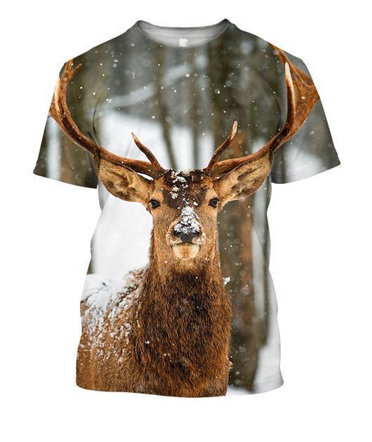 All Over Print Deer Winter