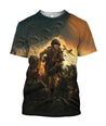 3D All Over Printed 101st airborne WW2 Clothes